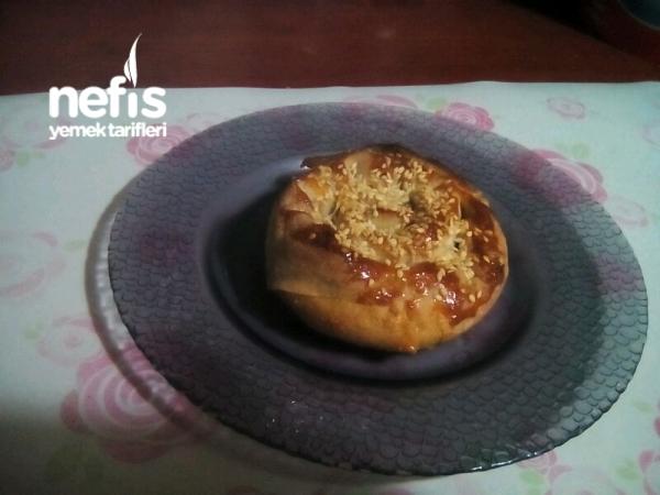 Tahinli Çörek(hazır Yufkayla)