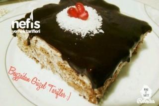6 Malzeme İle Nefis Rokoko Pastası Tarifi