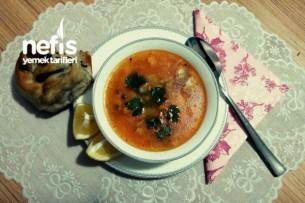 Balık Çorbası (Sebzeli) Tarifi