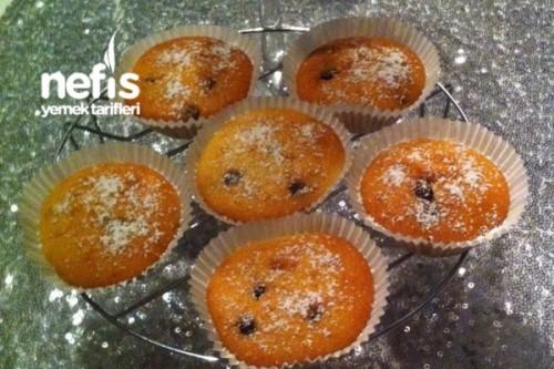 Çikolatalı Vanilya Muffins
