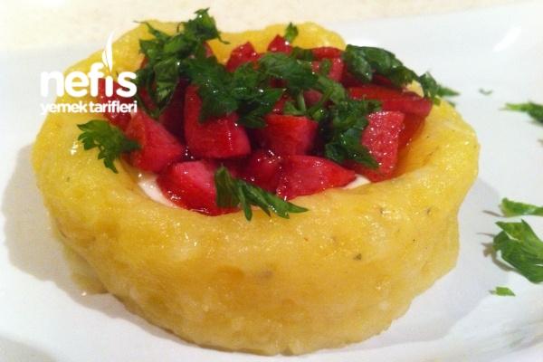 Aperatif Patates Çanakları (Sıcak Yada Soğuk)