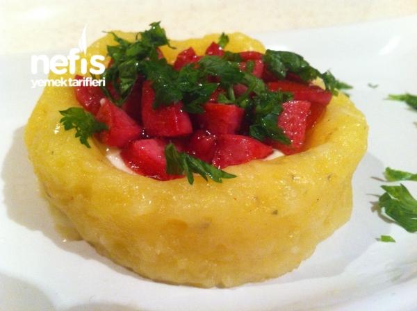 Aperatif Patates Çanakları ( Sıcak Yada Soğuk)