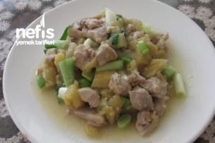 Patlıcanlı Hindi Sote Tarifi