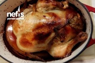 Şahane İç Pilavlı Fırında Tavuk Dolması Tarifi