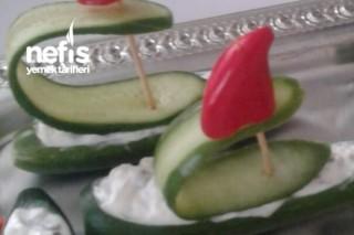 Salatalık Sandalları Tarifi