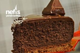 Çikolata Dolgulu Cheesecake Tarifi