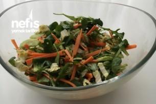 Karışık Salata ( Hardal Soslu ) Tarifi