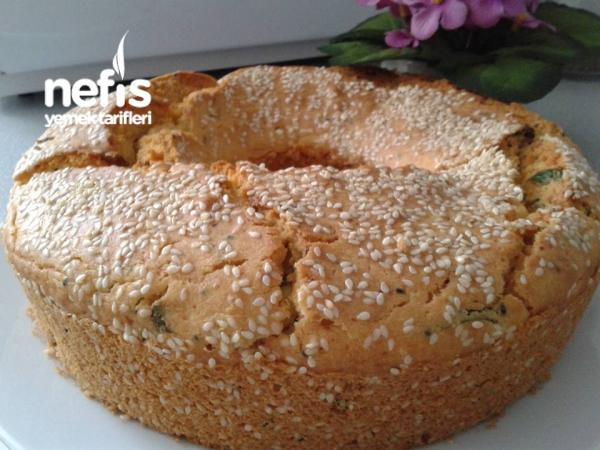 Mısır Unlu Sodalı Tuzlu Kek