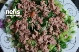 Ton Balıklı Salatam Tarifi