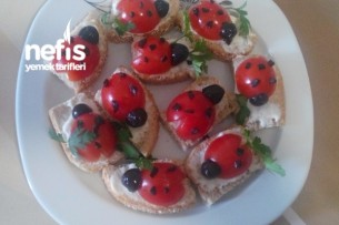 Uğur Böceği (domates Kanepe)