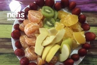 Vitaminli Meyveler Tarifi