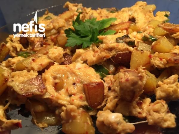 Patatesli Omlet - Okan Dmr - Nefis Yemek Tarifleri