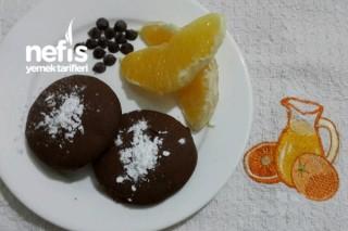 Damla Çikolatalı Portakallı Kakaolu Kurabiye Tarifi