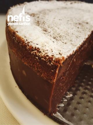Brownie Mantolu Kesme Puding