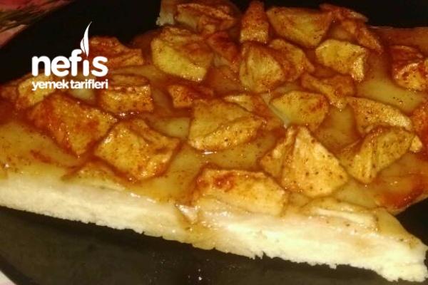 Elmalı Pizza Tarifi