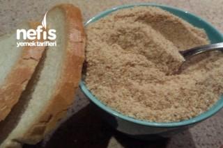 Bayat Ekmekle Galeta Unu Yapımı Tarifi