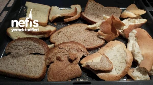 Bayat Ekmekle Galeta Unu Yapimi