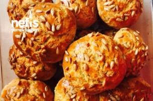 Bol Peynirli Dereotlu Mayasız Poğaça Tarifi