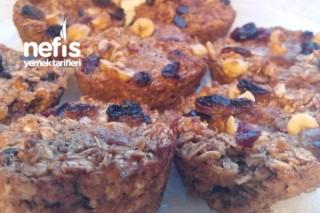 Yulaflı Kahvaltılık Muffin Tarifi