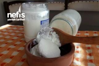 Doğal Taş Gibi Ev Yoğurdu (Koyun Sütü) Tarifi