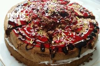 Hazır Kekten Kolay Pasta Tarifi