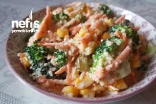Bulgurlu Brokoli Salatası Tarifi