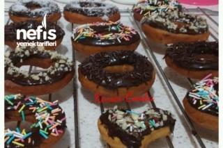 Pişi Hamurundan Donut (Yağ Çekmez Mayasız) Tarifi