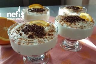 Portakallı Labneli Cup Tarifi
