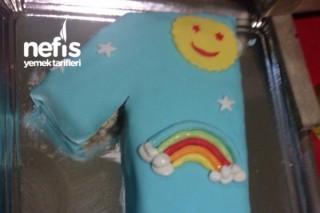1 Yaş Doğum Günü Pastası ( Gökkuşağı) Tarifi