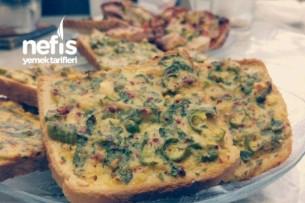 Yeşil Biberli Peynir Dilimleri