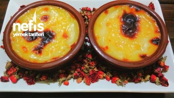 Portakal Sulu Fırın Sütlaç