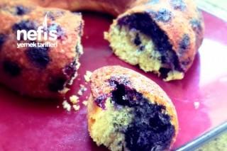 Yabanmersinli Puf Kek (Blueberry Cake) Tarifi