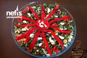 Bakla Yaprağı Salatası (muğla)