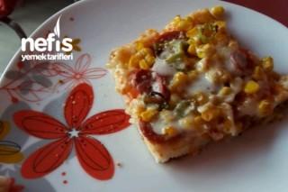 Peluşun Pazar Pizzası Tarifi