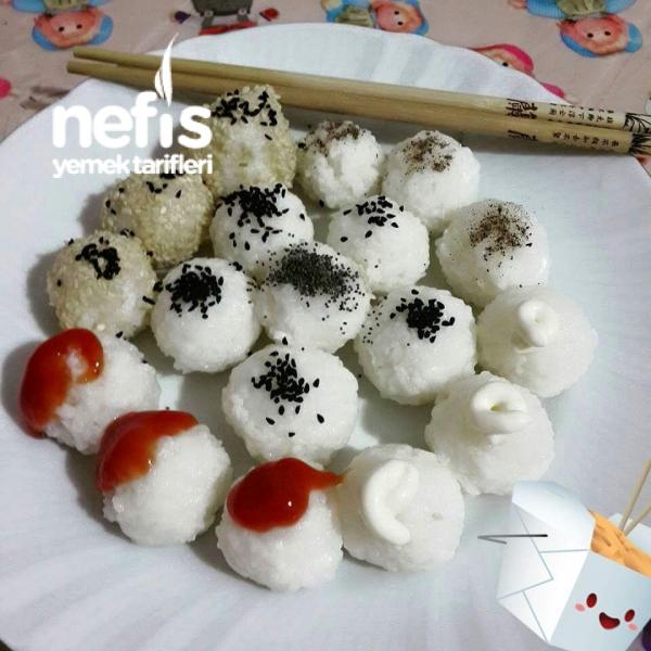 Japon Onigiri (pirinç Topları)