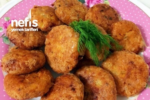 Patates Köftesi (Yemeklerin Yanına Beş Çaylarına) Tarifi