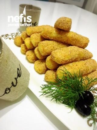Fırında Patates Kroket (hafif, İkramlık, Kahvaltılık)