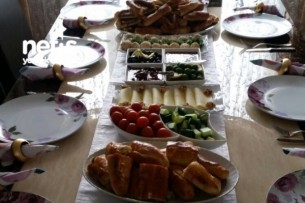 Kahvaltı Masası Tarifi
