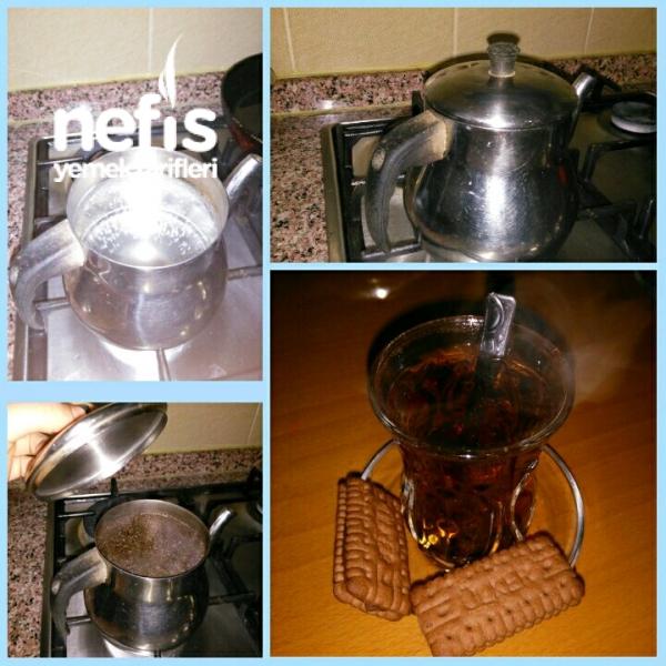 Tel Demlikte Çay