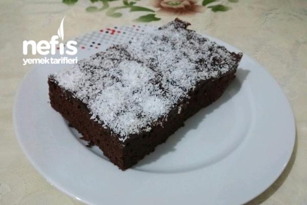 Yumuşacık Pudingli Kakaolu Kek Tarifi