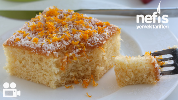 Portakallı Islak Kek Tarifi Videosu
