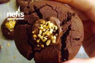 Çikolatalı Çatlak Kurabiye Tarifi