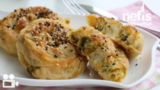 Havuçlu Pırasalı Gül Böreği Tarifi