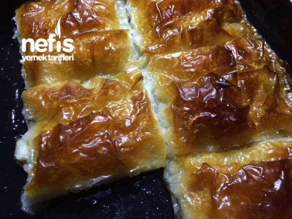 Peynirli Katmer Tatlısı ( urfa yöresi)