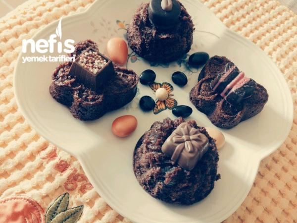 Kuru Meyveli Mini Kekler — Resimli Yemek Tarifleri