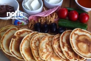 Mini Pankek Kahvaltı Tarifi