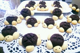 Kaplumbağa Kurabiye( Çocuklar Buna Bayılacak) Tarifi