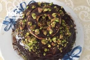 Pankekli Çikolatalı Pasta Tarifi