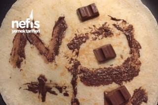 Ballı Çikolatalı Krep Lezzetli Tarifi