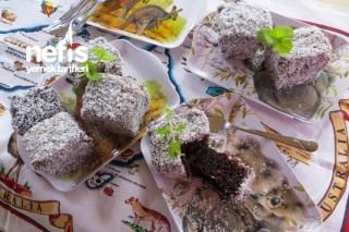 Kakaolu İngiliz Keki (Chocolate Lamingtons) Tarifi